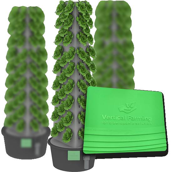 vertical aeroponic farm